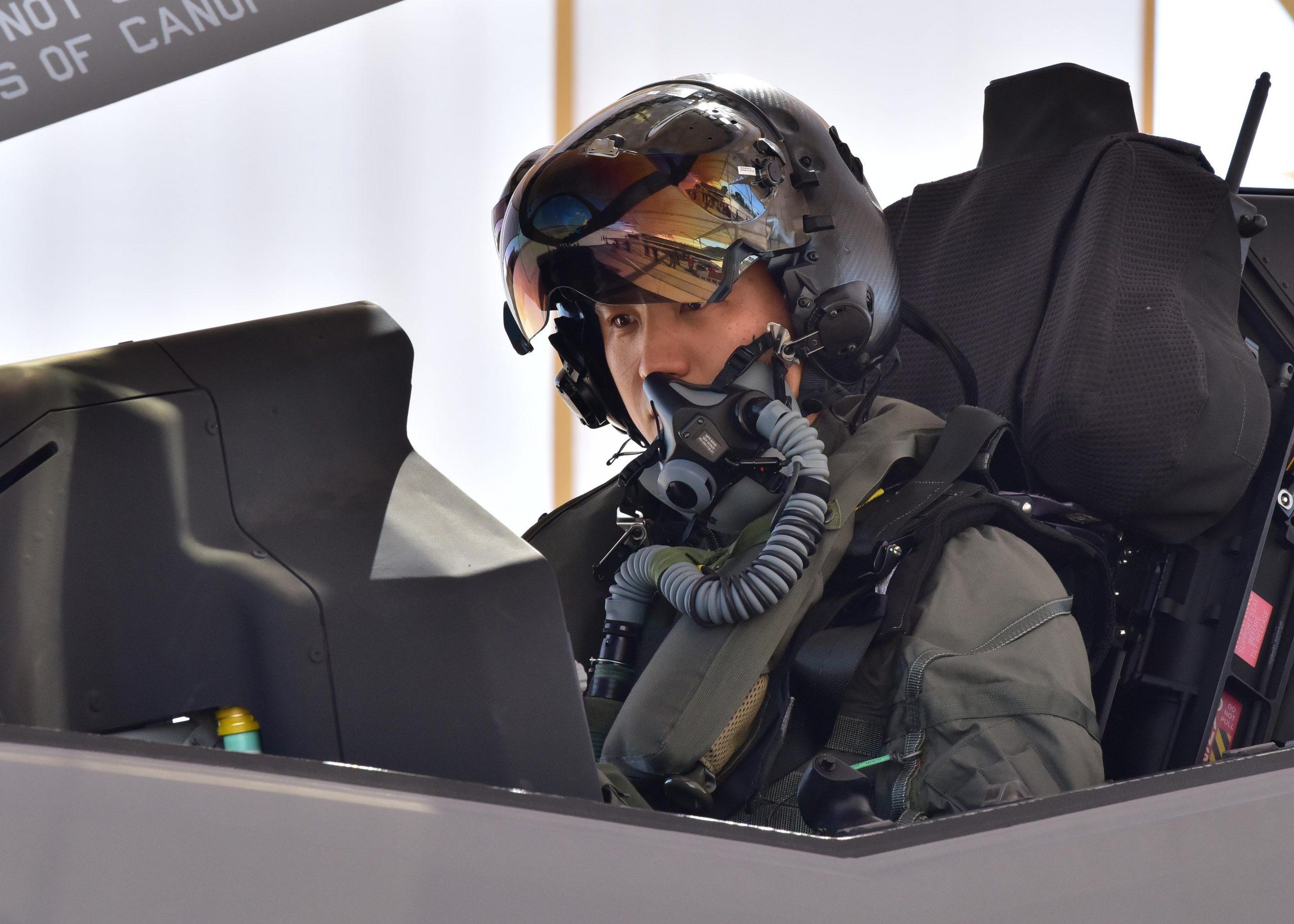 Korea Air Force F-35A pilot