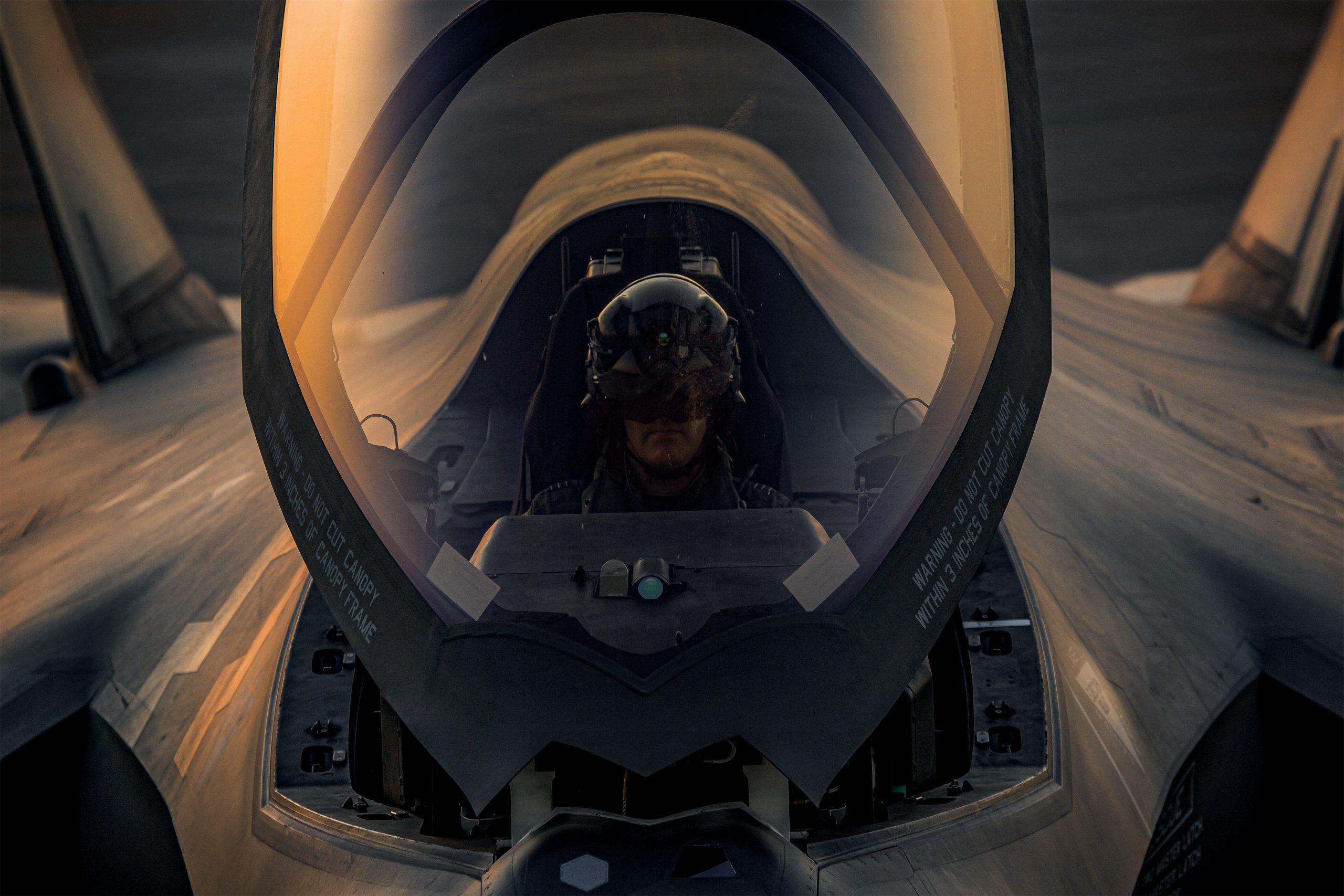 F-35A In Arizona