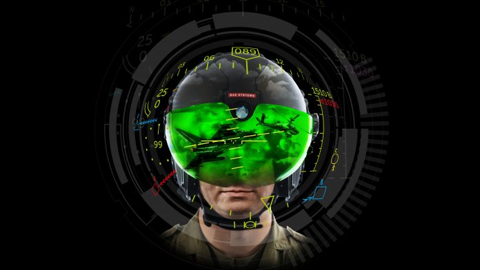 The Striker II helmet-mounted display