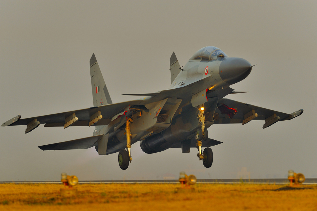 Sukhoi Su-30MKI fighter