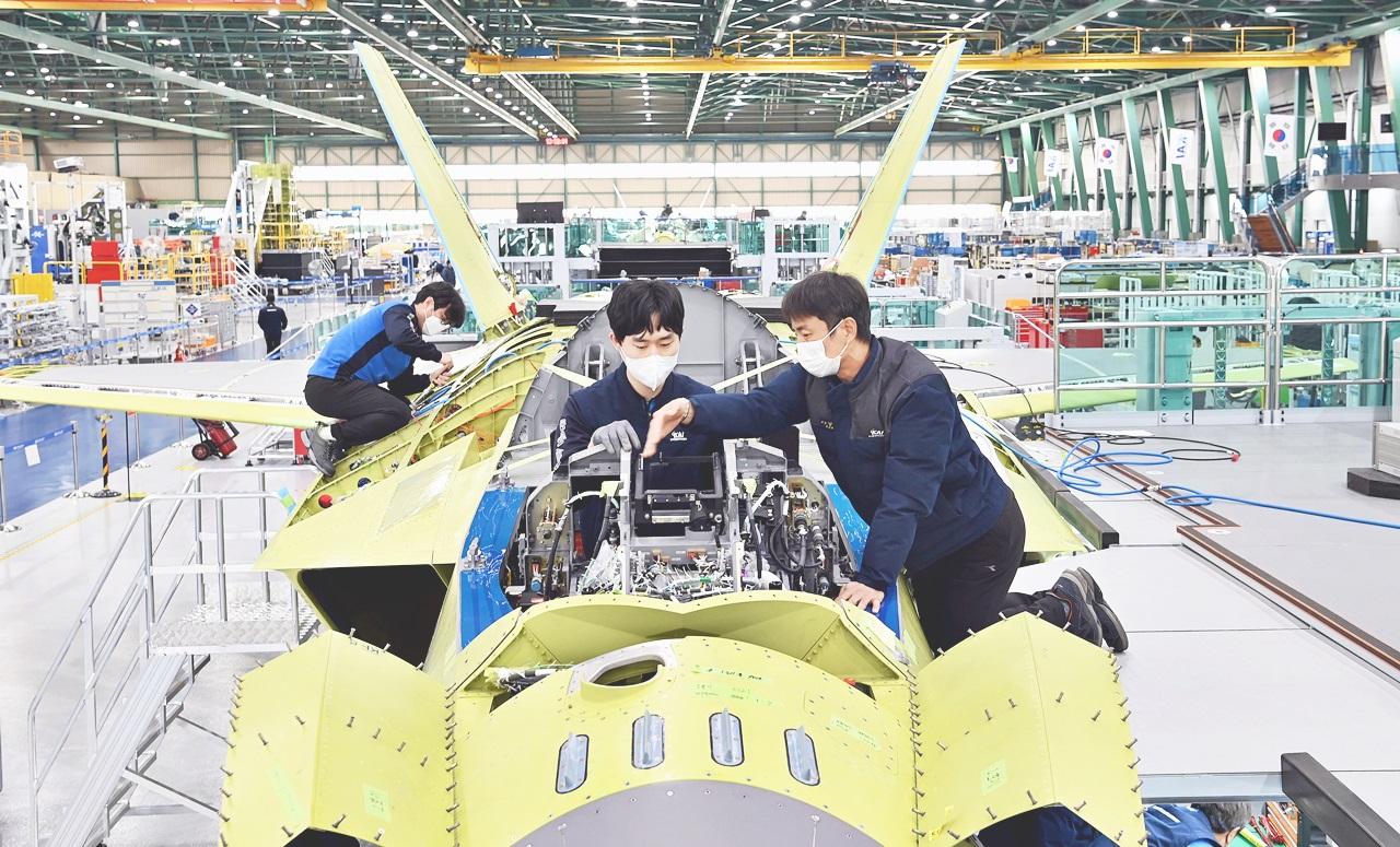 Prototype KF-X fighter