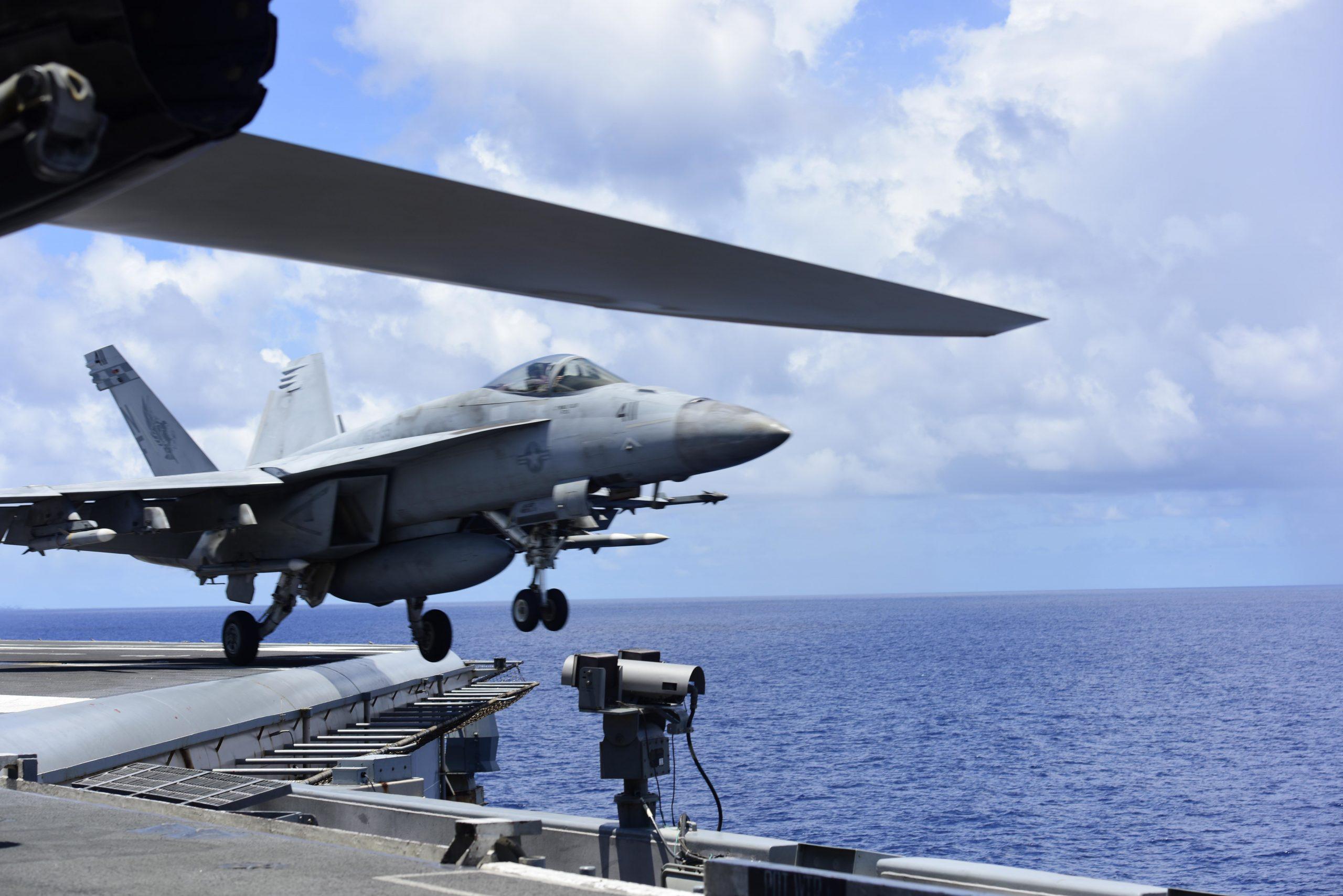 Ronald Reagan, South China Sea Operations