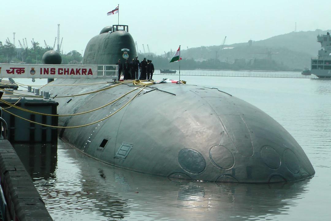 The Indian Navy's INS Chakra 'Akula' class SSN