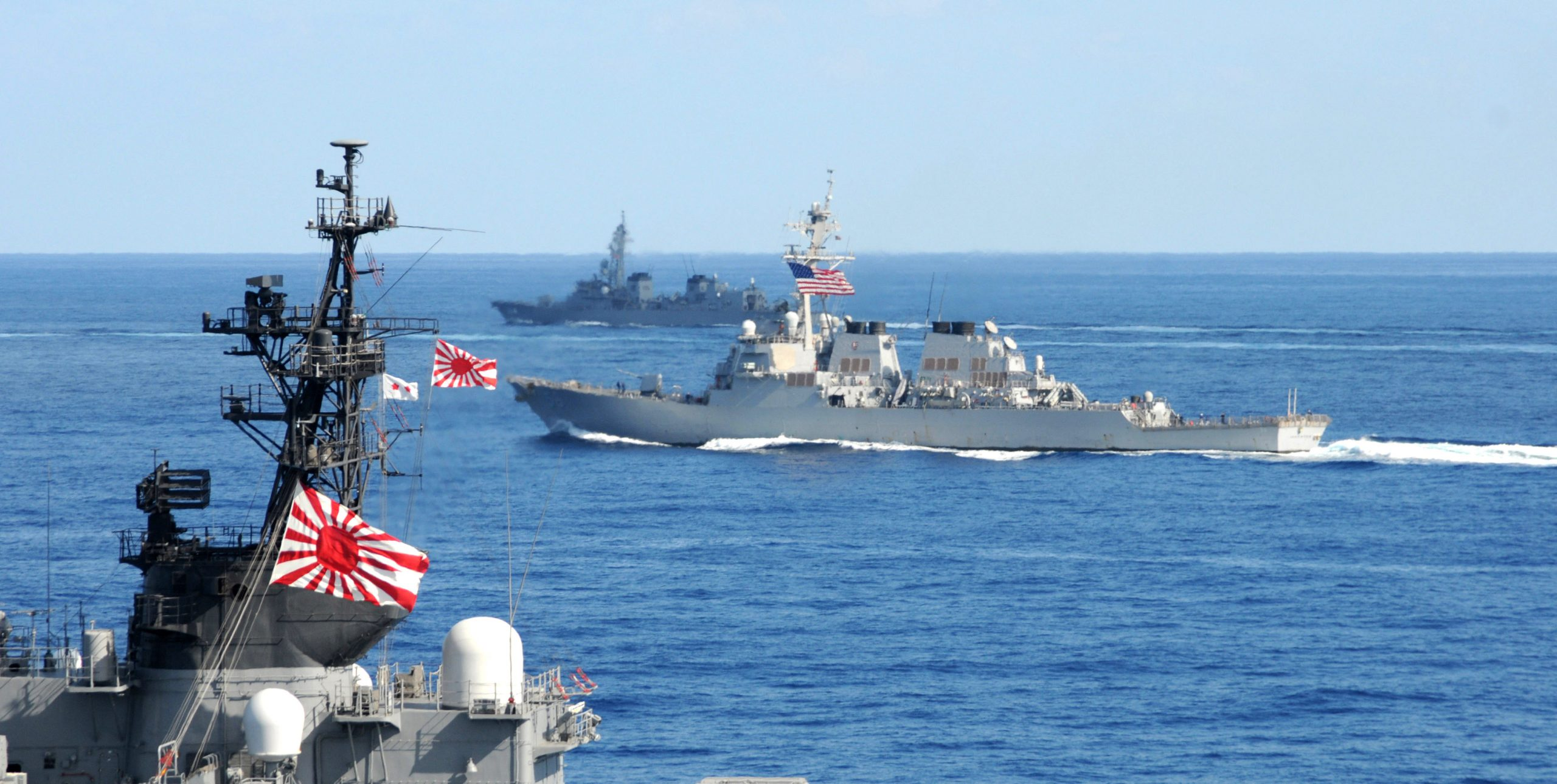 The US Navy and JMSDF