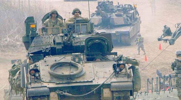 US-Army-Korea-M2-M1A2