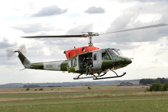 Bell 212 7 flight brunei