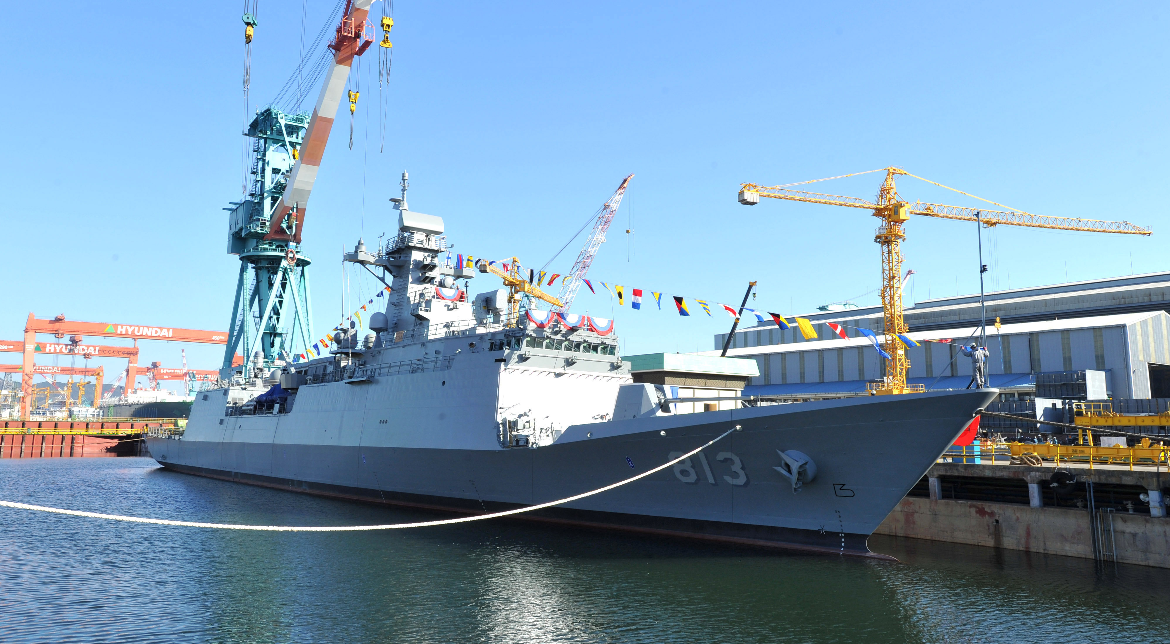 The ROKN's 'Incheon' class frigates
