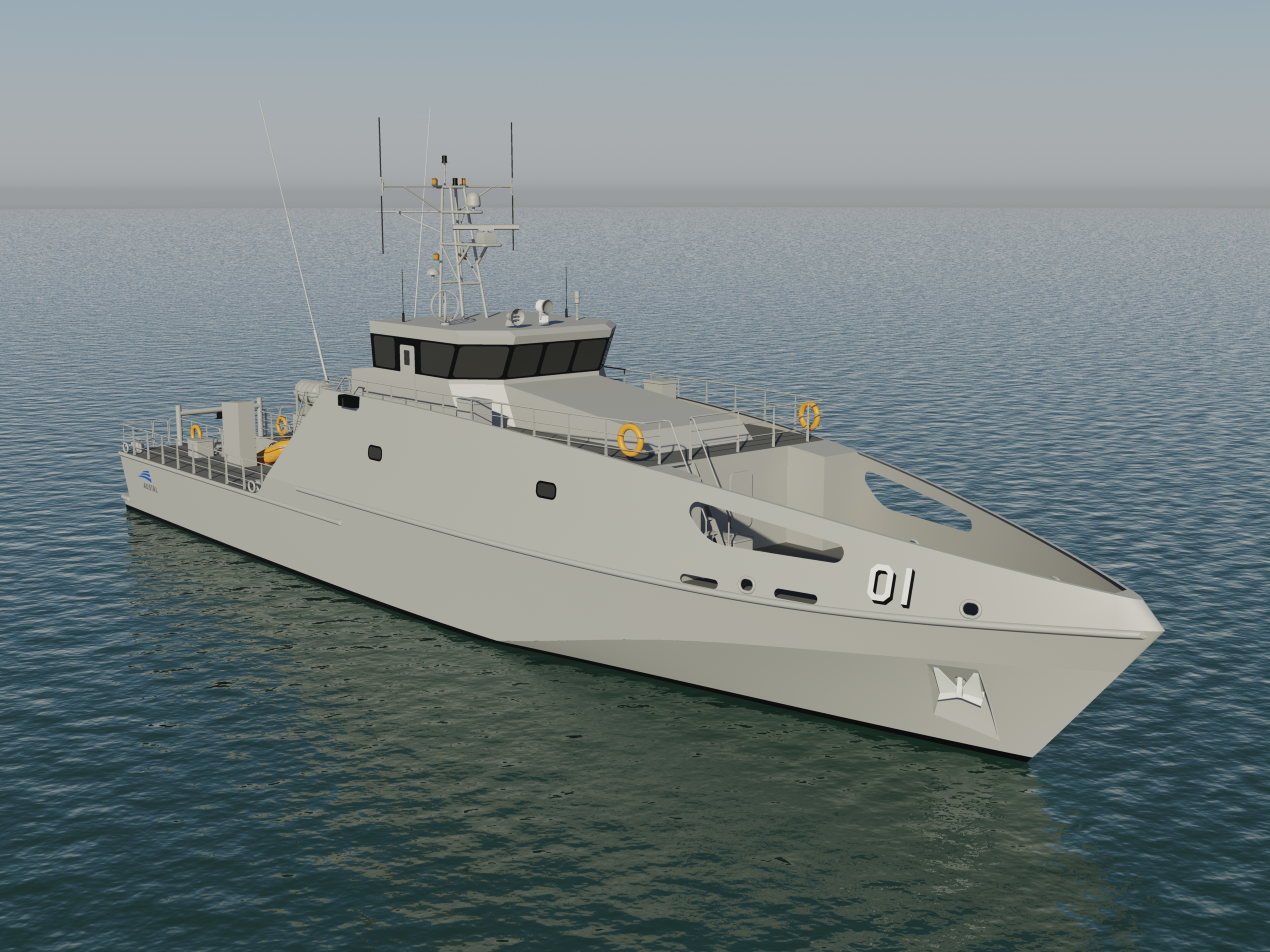 The new Pacific Patrol Boat