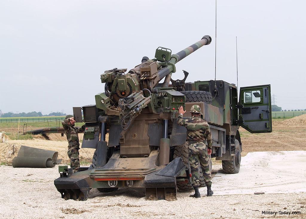 CAESAR 155mm howitzer