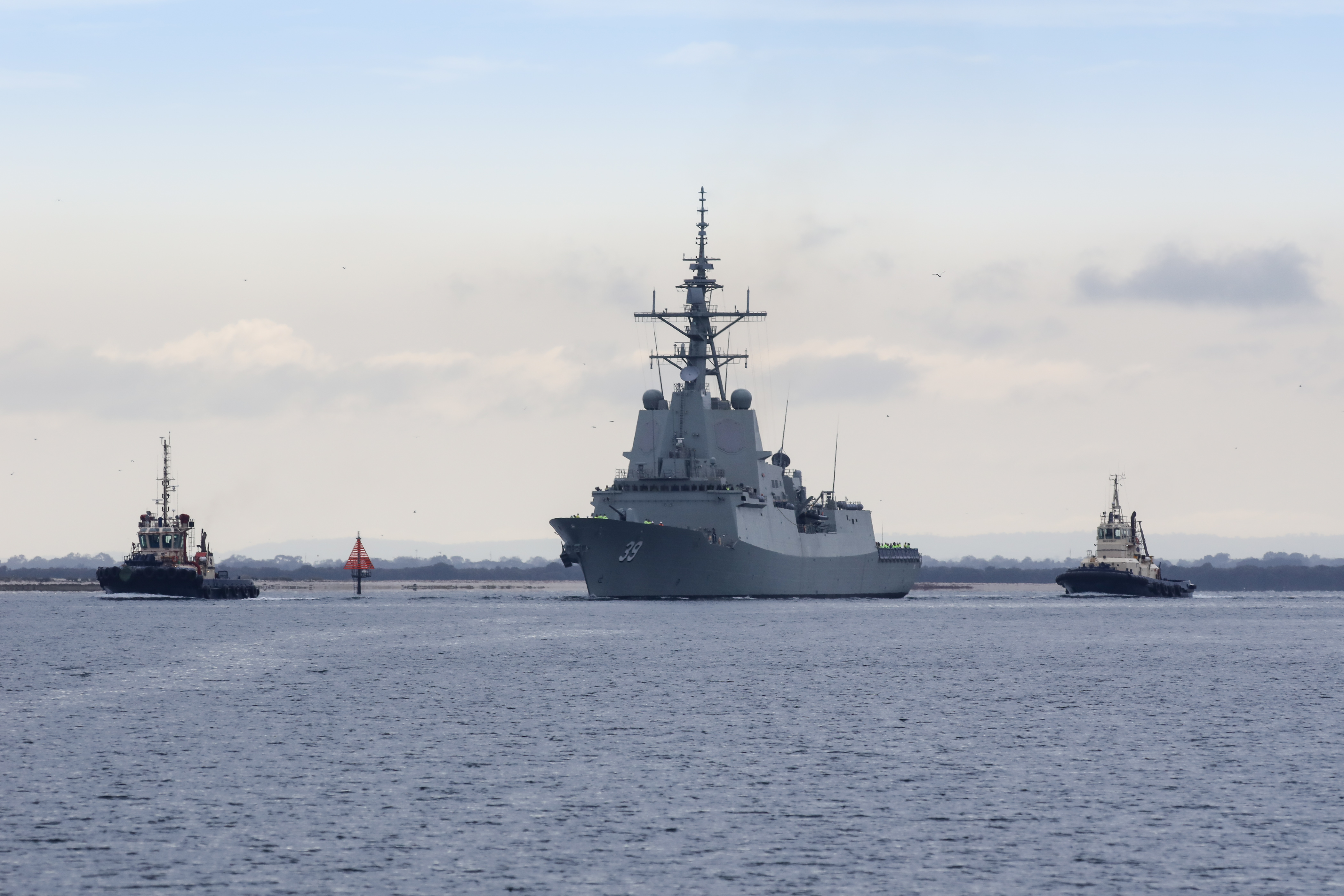 'Hobart' class destroyer HMAS Hobart