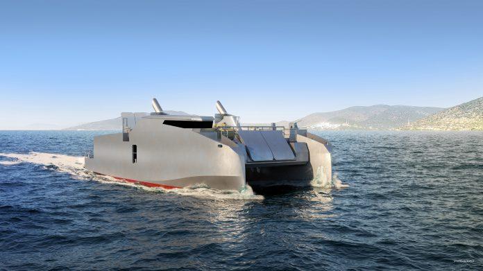 L-CAT shore-to-shore catamaran