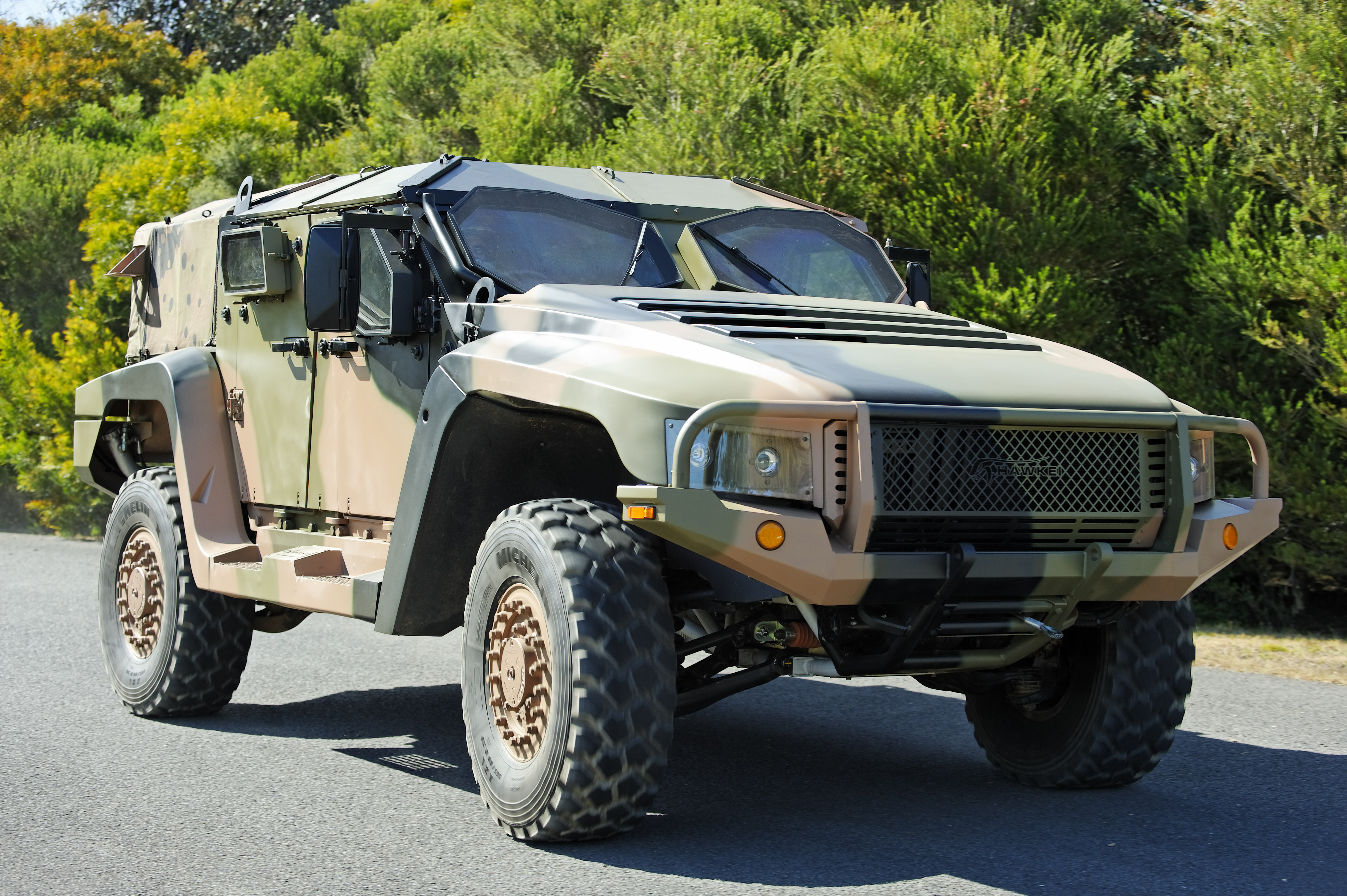 The Hawkei is Thales' next generation Protected Mobility Vehicle