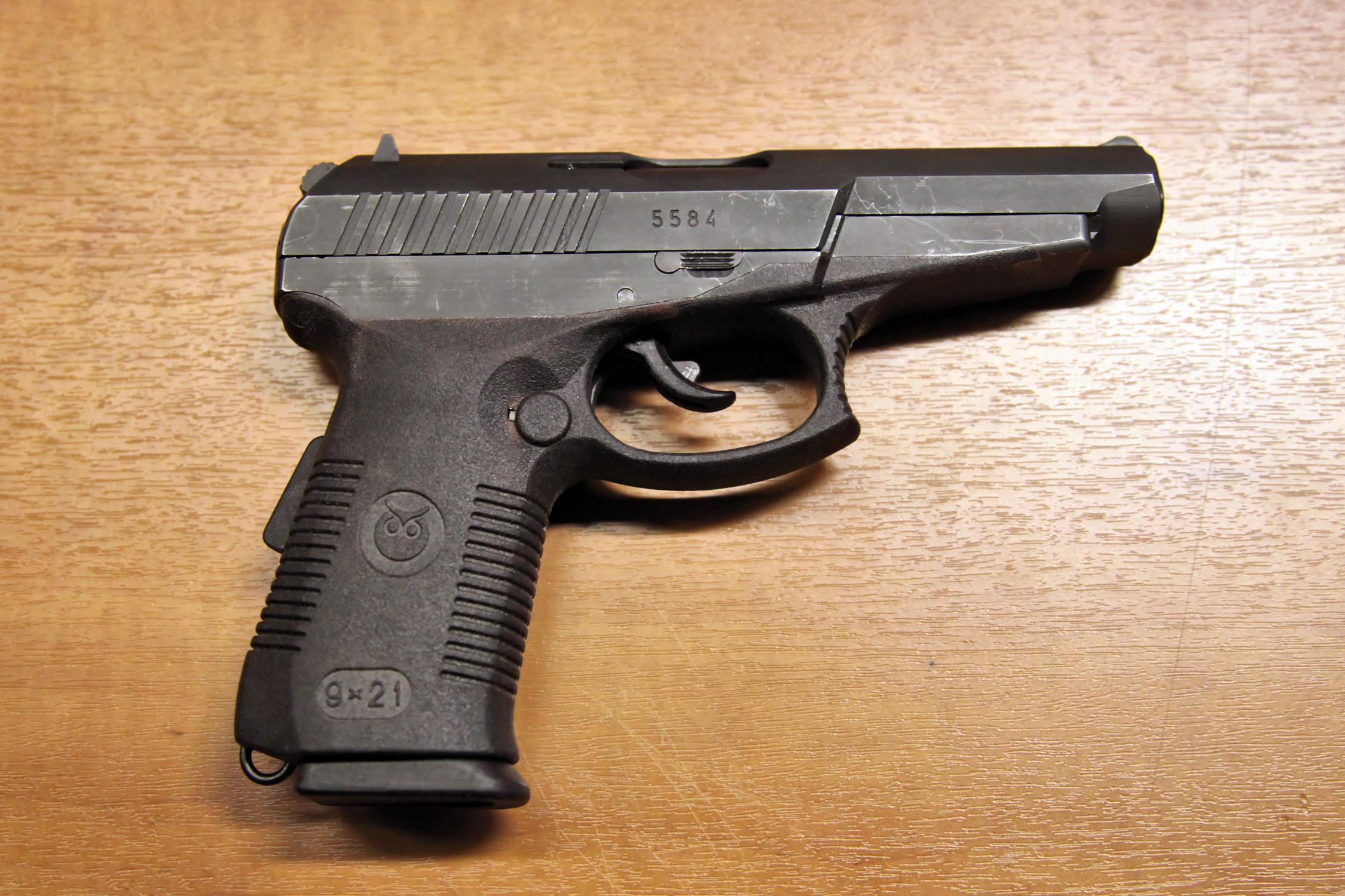 Russia's SR-1MP handgun