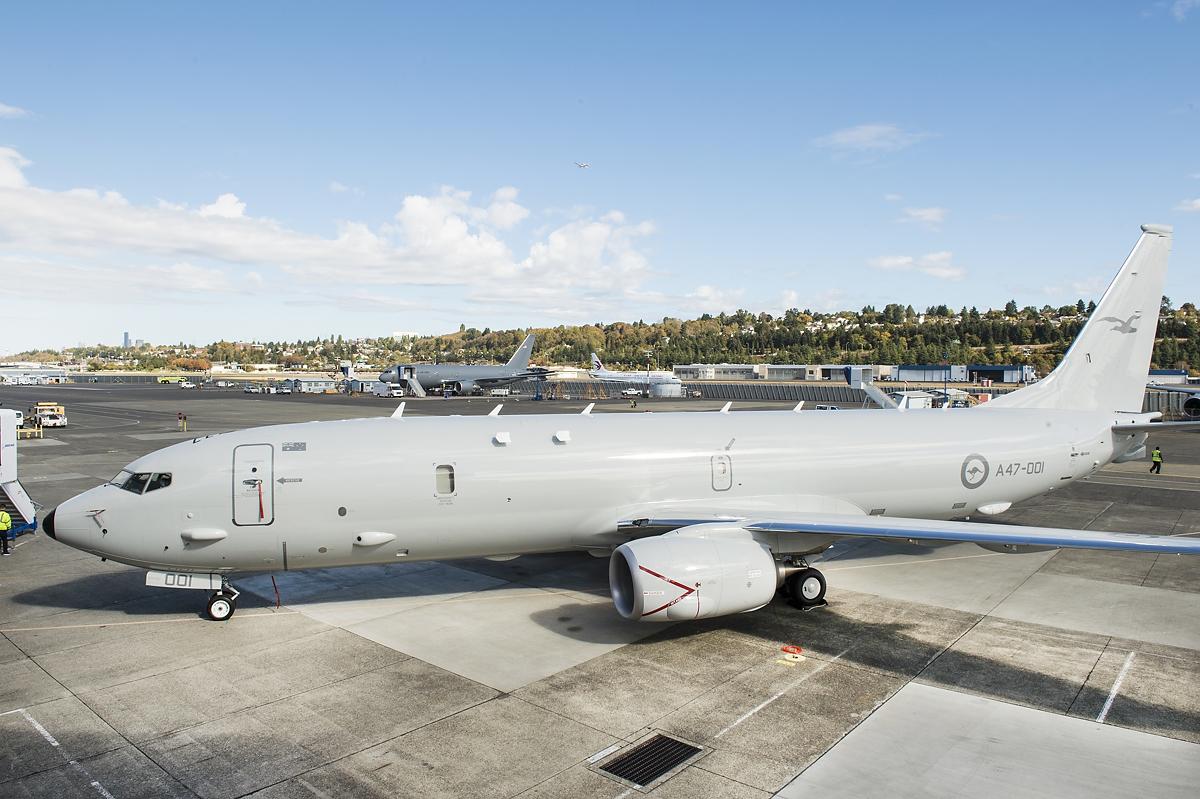 P-8A maritime patrol aircraft