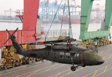 Sikorsky UH-60M Black Hawk utility helicopters