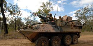 Australian Army new wheeled Combat Reconnaissance Vehicles