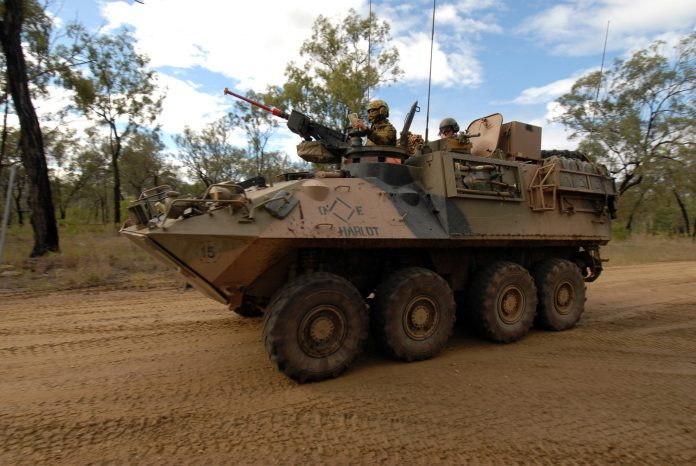 Australian Army new wheeled Combat Reconnaissance Vehicles