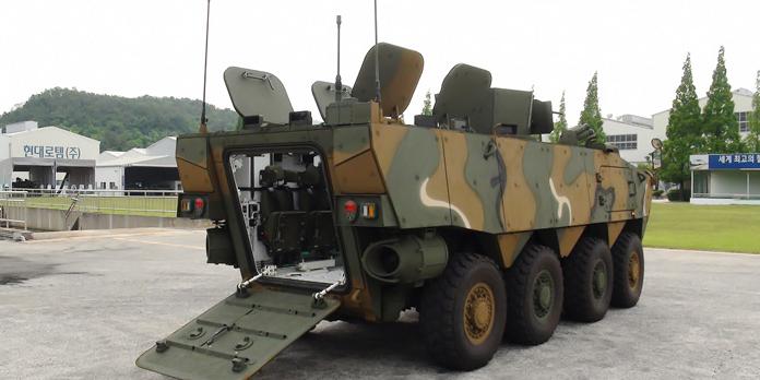 K-806 armoured vehicle