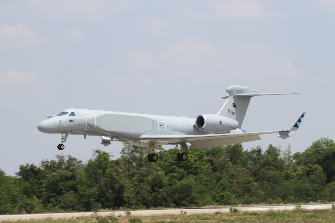 G-550s equipped with the EL/W-2085 radar