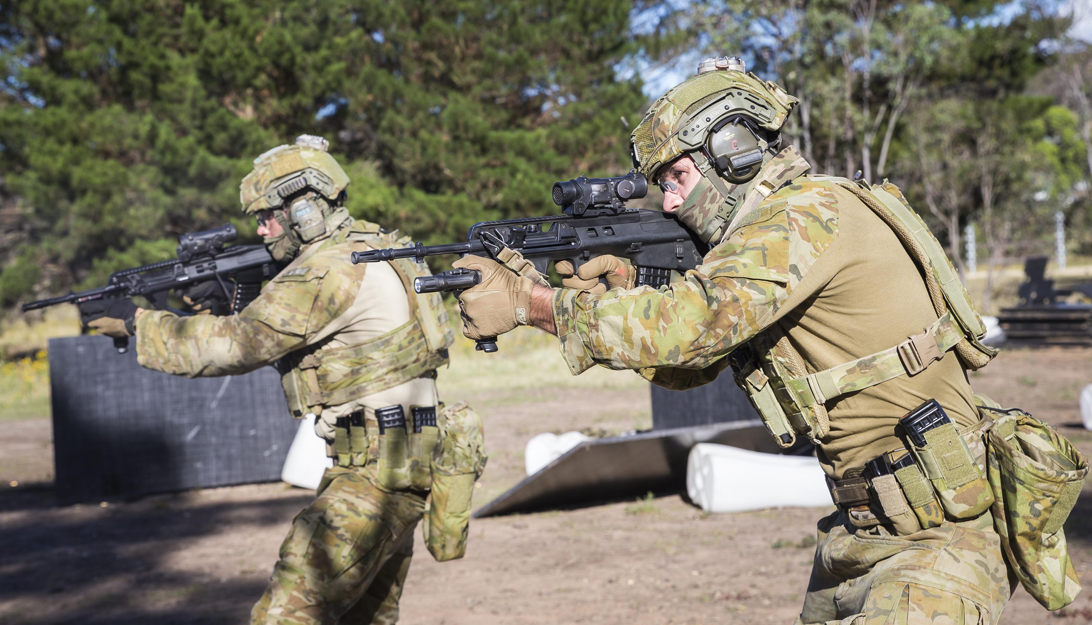 Australia's SAS regiment