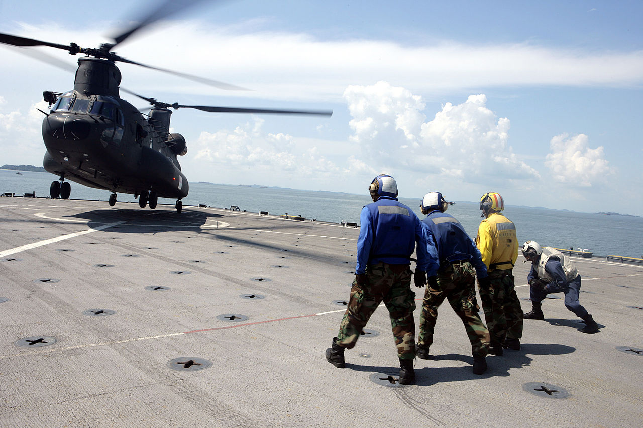 CH-47D aircraft