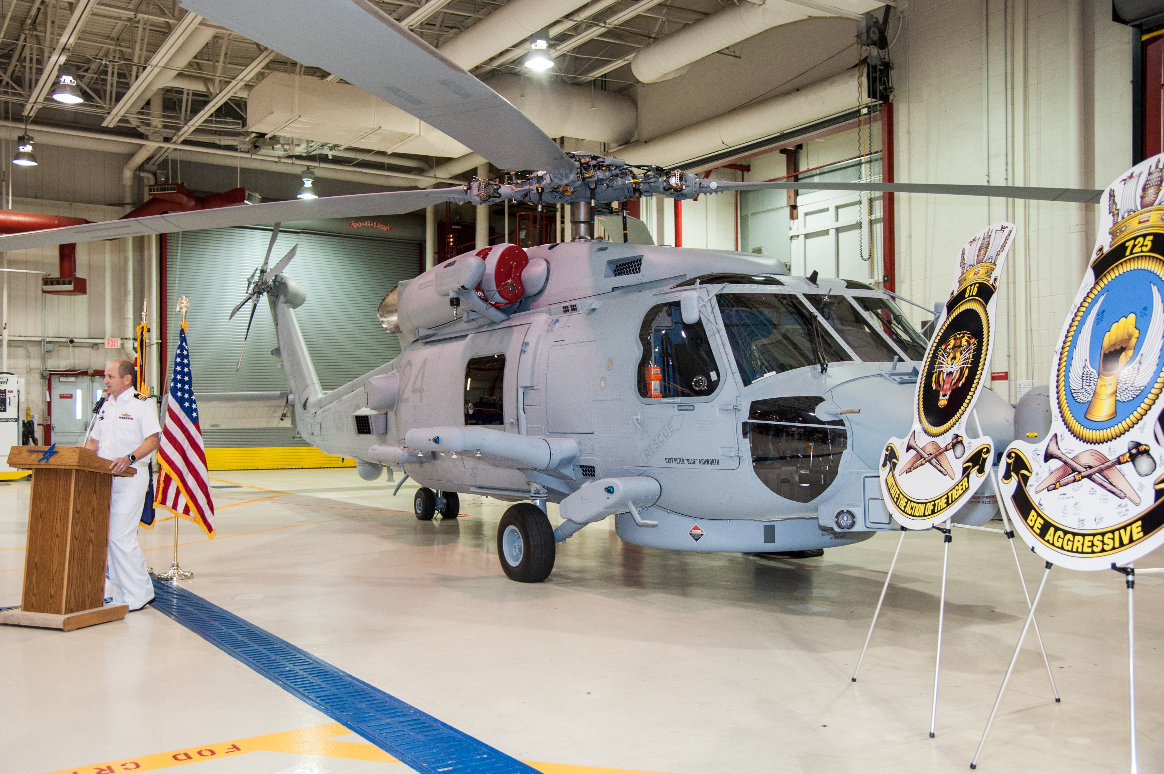 MH-60R helicopters