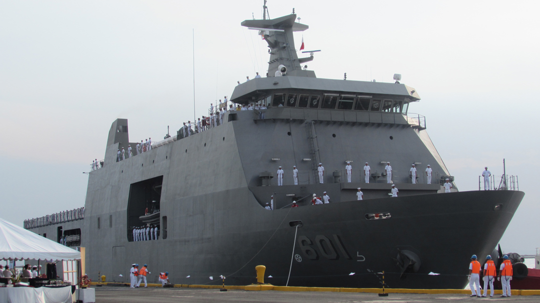 BRP Tarlac amphibious assault ship