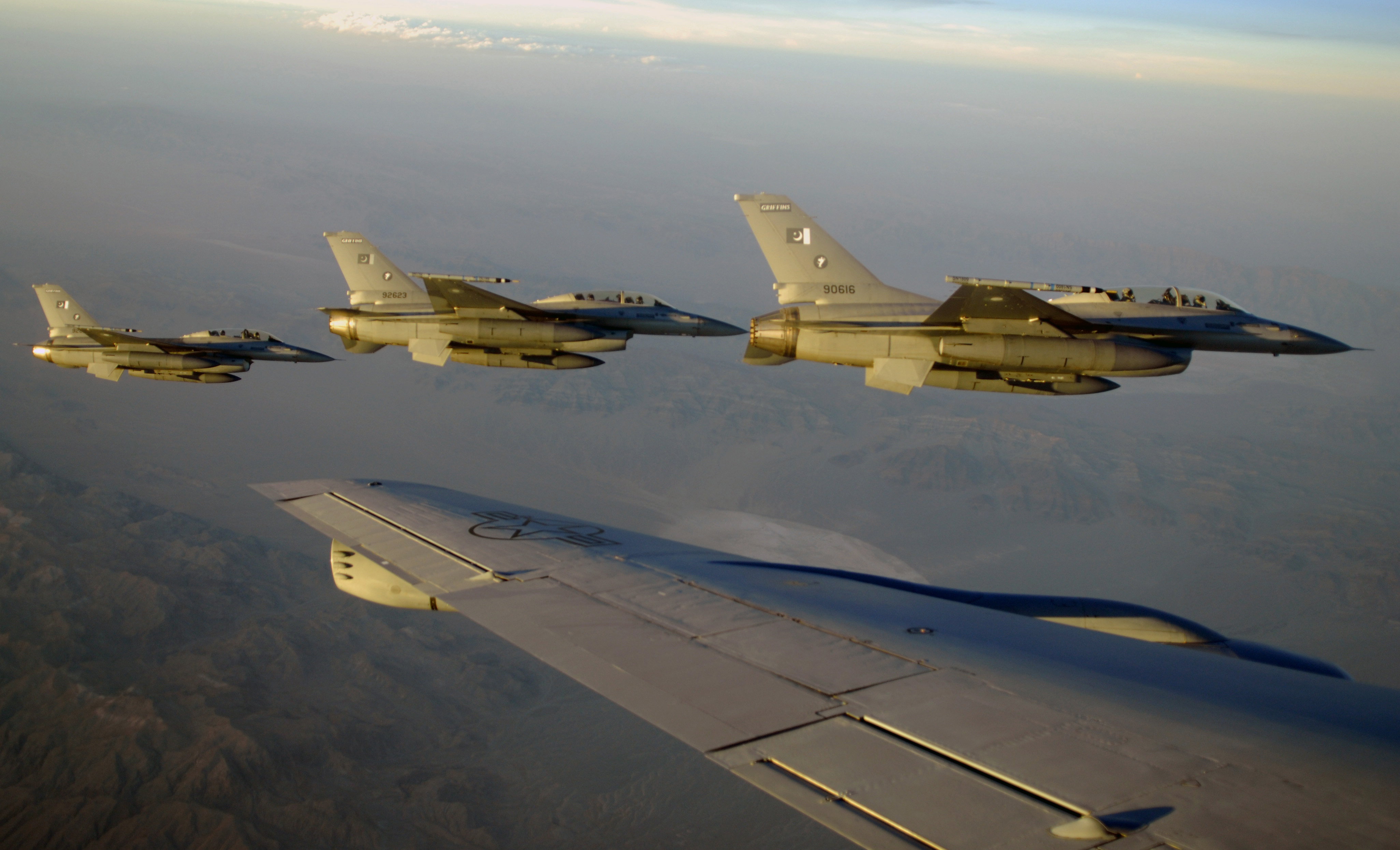 The Pakistan Air Force's F-16A/B/C/D fighters