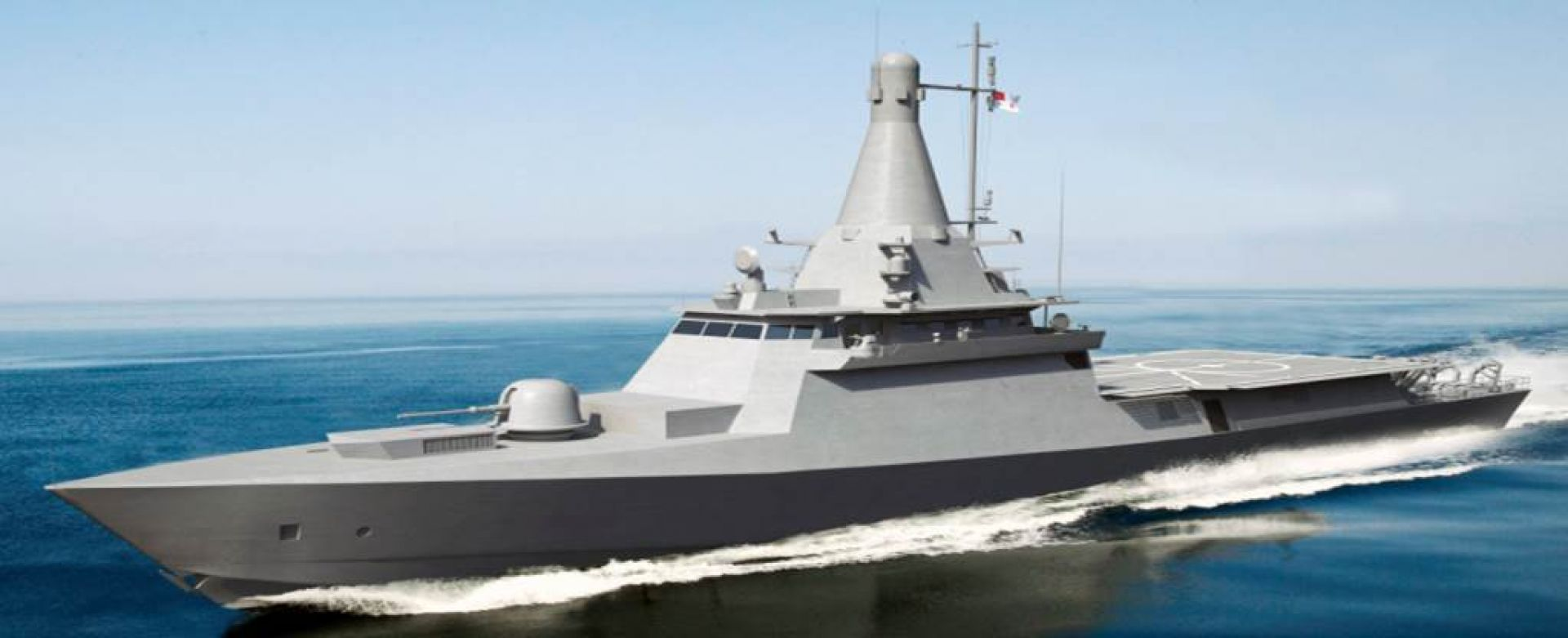 RSN's new 'Independence' class littoral misson vessels