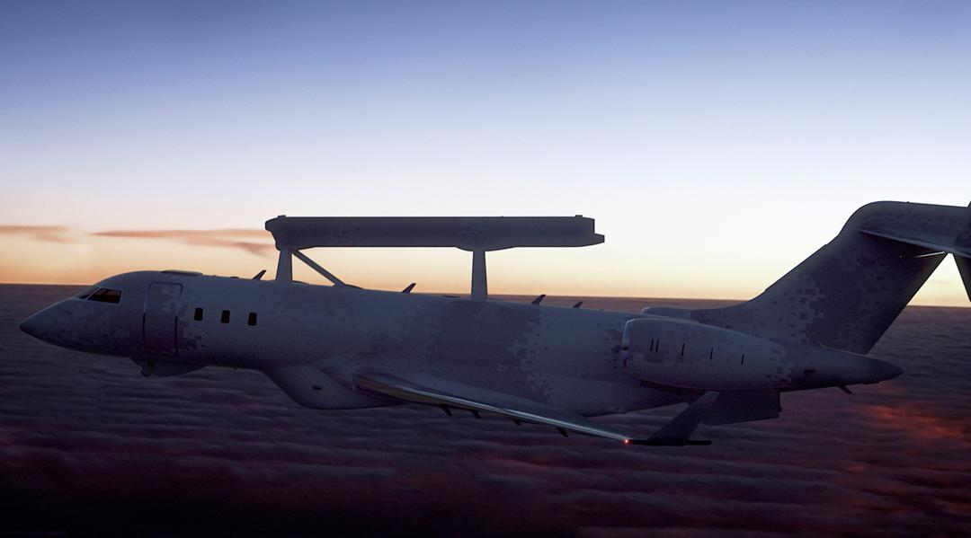GlobalEye AEW aircraft