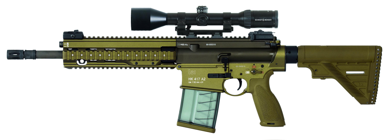HK-417 7.62mm sharpshooter