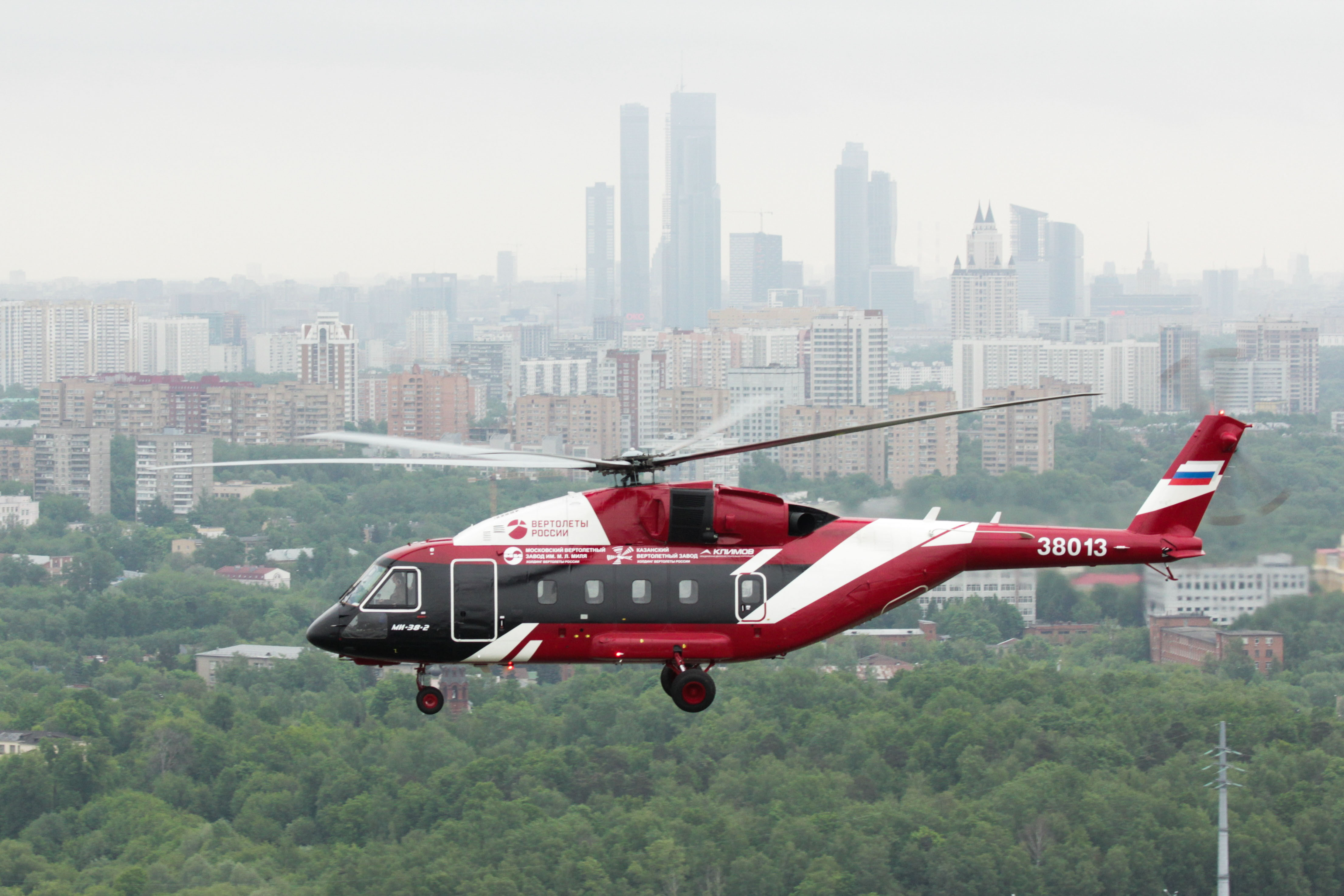 Russian helicopters started production of mi 38t for the for The russian mod