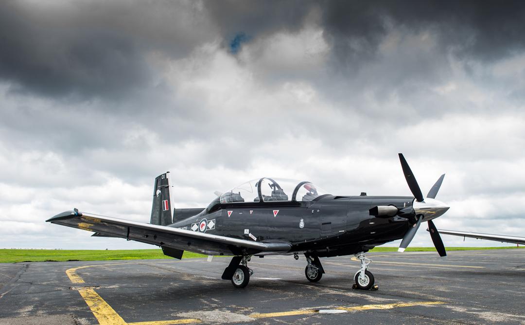 Beechcraft T-6C Texan-II aircraft