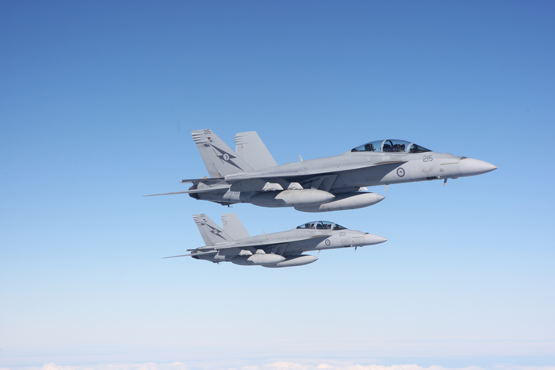 Boeing F/A-18F Super Hornets