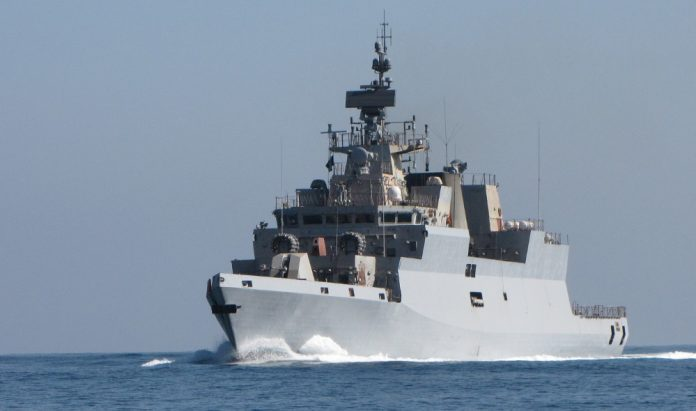 'Kamorta' class corvette