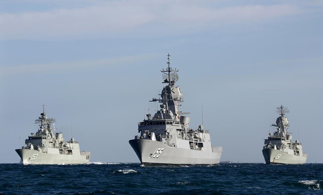 Navy's 'Anzac' class frigates