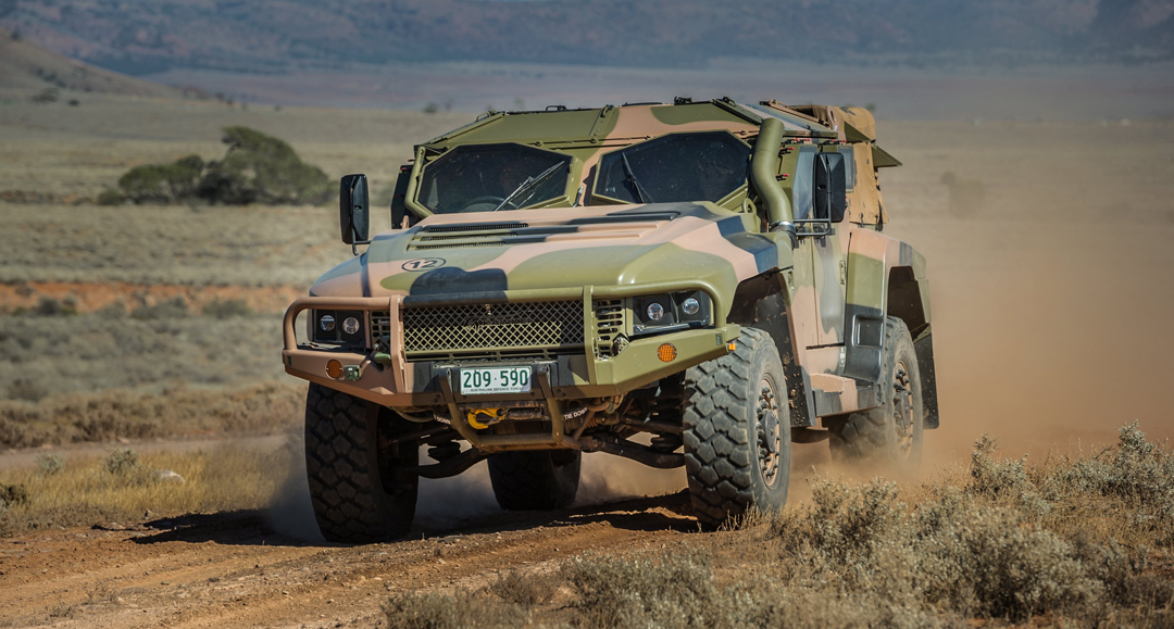 Thales Hawkei protected vehicles