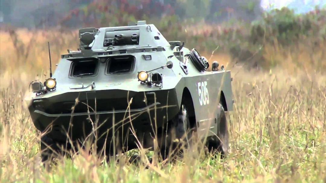Russian's BRDM-1