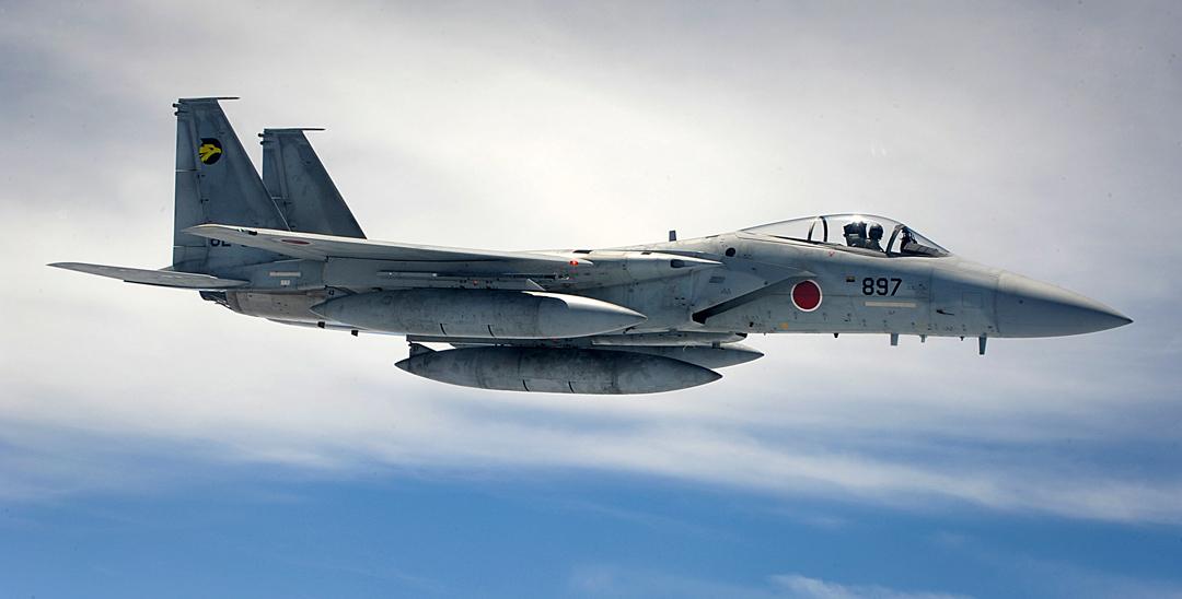 JASDF F-15J fleet