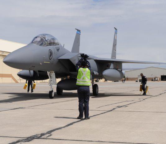 F-15SG fighter