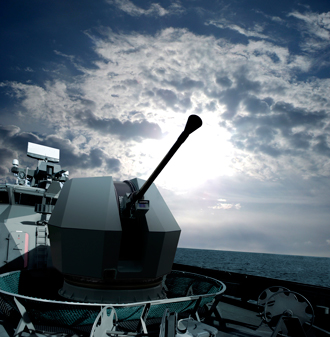 BAE Systems provides the Mk.4 40mm naval gun