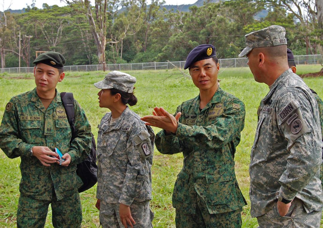 Singapore's army