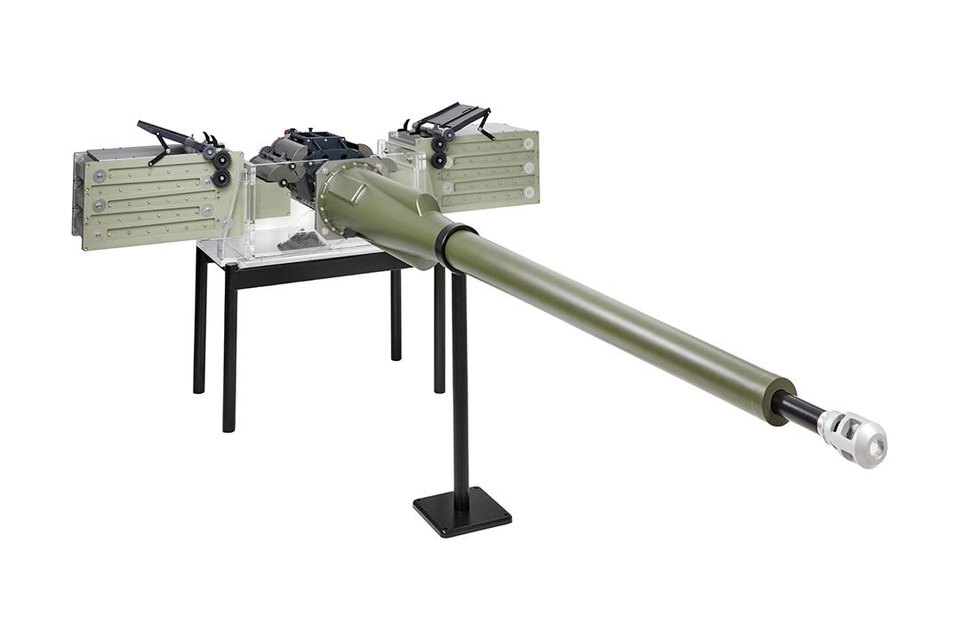 Mk44 30mm Bushmaster II autocannon