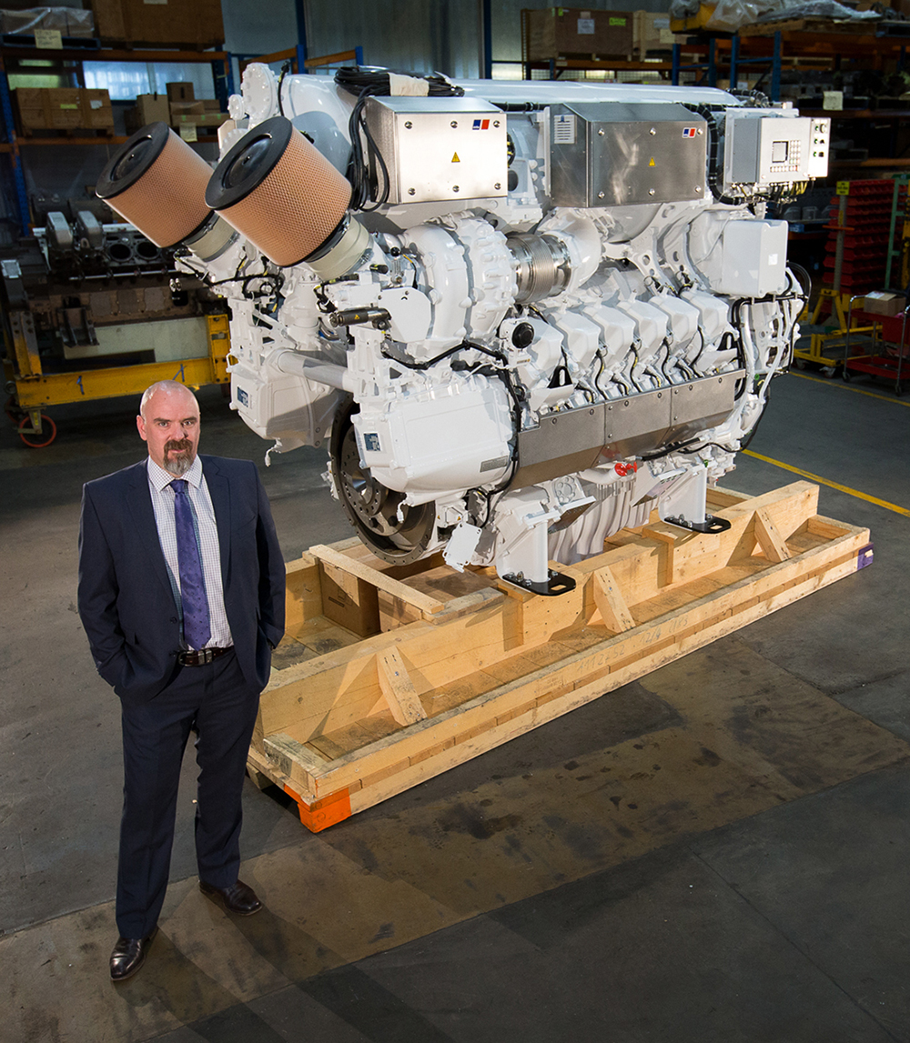 Penske Power Systems to reveal next gen of submarine charging engine