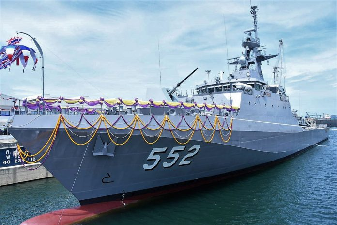 2nd-Krabi-class-OPV-launched-for-Royal-Thai-Navy