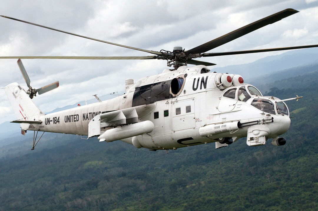 Mil Mi-24/35 attack helicopters