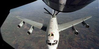 US Air Force's Boeing WC-135W Constant Phoenix aircraft