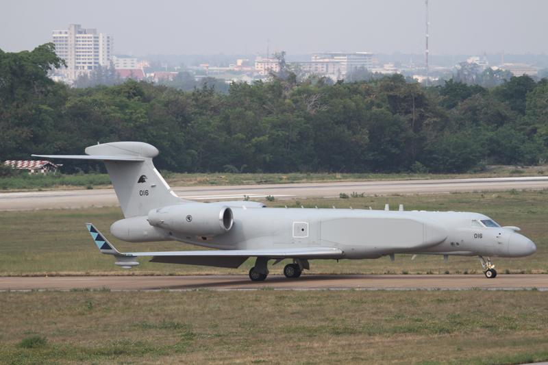 G550 aircraft