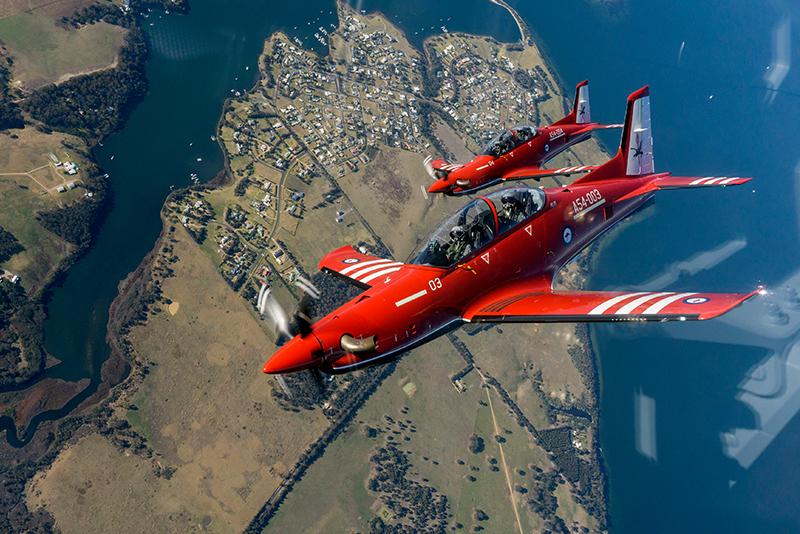 Trainers-RAAF-PC-21