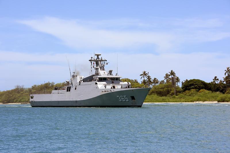 Constabulary Maritime: OPVs and Corvettes On Patrol - Asian